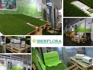IBERFLORA-2017-Albergrass-césped-artificial